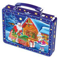 Кейс Домик в деревне - новогодняя упаковка
