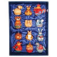 Набор ёлочных игрушек Колокольчики