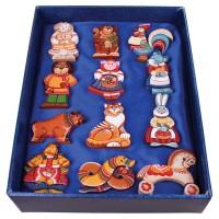 Набор ёлочных игрушек Символы года
