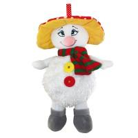 Снеговик Кузя - новогодняя упаковка из текстиля