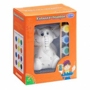 Копилка Мишка - набор для детского творчества