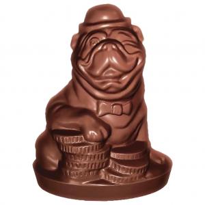 Шоколадная фигурка - пёс Бакс