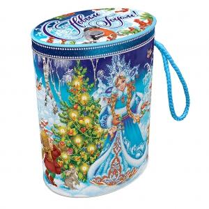Снегурочка и дети - новогодний подарок