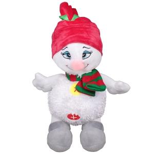 Снеговик в шапке - новогодний подарок
